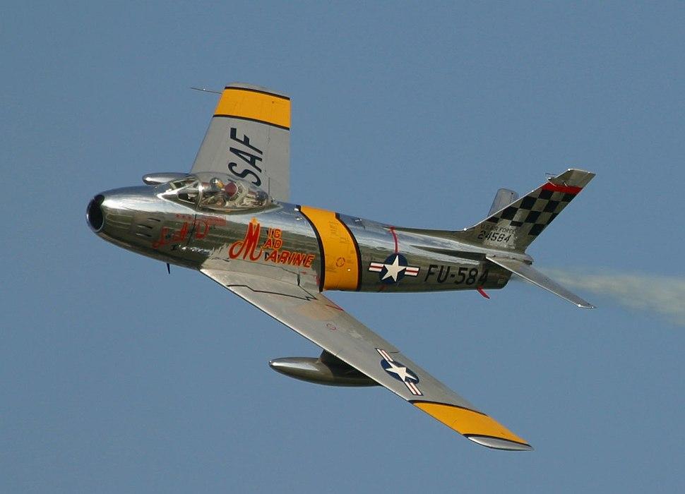 North American F86-01