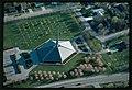 North Christian Church, Columbus, Indiana, 1959-64. Aerial view - 00804v.jpg