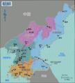 North Korea Regions Map (zh-hans).png