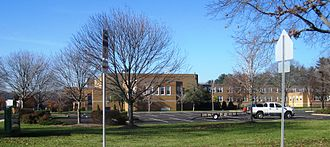Notre Dame High School (New Jersey) - Front of the school