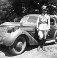 Nova-Technik Notek lamp, Ford-brand, Royal Hungarian Air Force, pilot, automobile Fortepan 52920.jpg