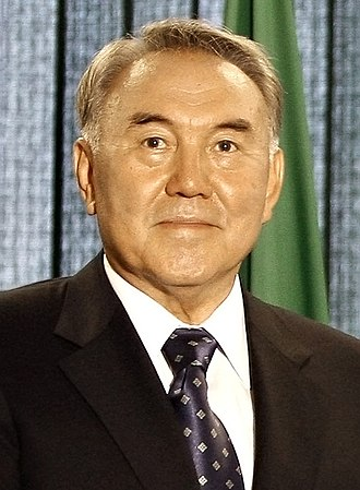 Economic Cooperation Organization - Image: Nursultan Nazarbayev 27092007