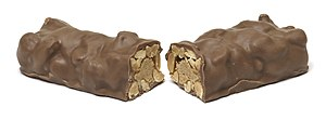 NutRageous - A NutRageous split in half