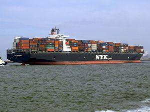Nyk Aphrodite p5 approaching Port of Rotterdam, Holland 09-Apr-2007.jpg