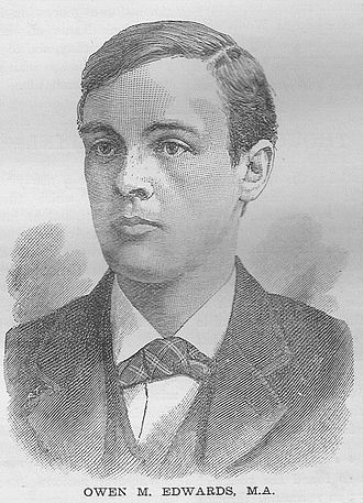 Owen Morgan Edwards - O.M. Edwards, c. 1895, from the periodical Young Wales (1896)