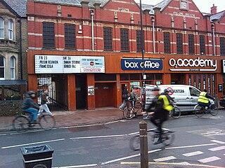 O2 Academy Oxford music venue in Oxford, England