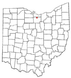 Ubicación de Norwalk, Ohio