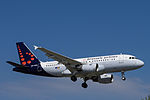 OO-SSH Airbus A319-112 A319 - BEL (18667430759).jpg