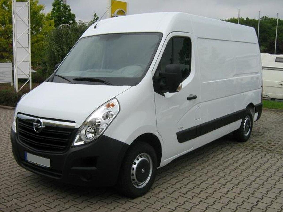 Opel Movano — Вікіпедія