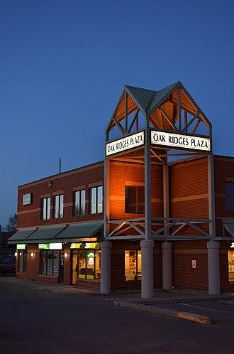 Oak Ridges, Ontario - Oak Ridges Plaza