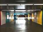 Oakland Coliseum BART Station Pedestrian Tunnel.jpg