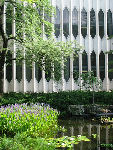 File:Oberlin Conservatory of Music - garden 2.jpg - Wikimedia Commons