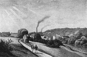 Ørholm - Ørholm in 1860