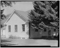 Office exterior from the southeast. - Hailey Administrative Site, Office, 309 South Main Street, Hailey, Blaine County, ID HABS ID,7-HAIL,1B-2.tif