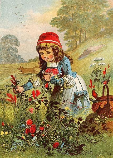 """Красная шапочка"" - ""Caperucita Roja"", сказка на испанском языке, текст"