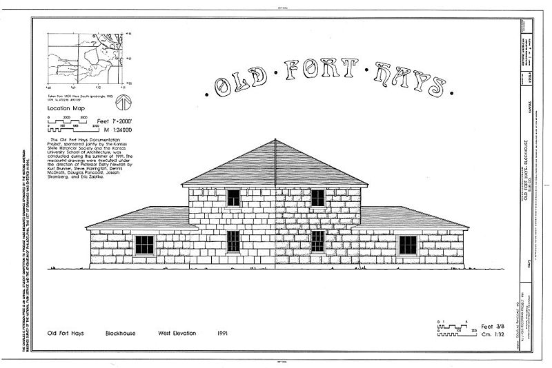 Old Fort Hays HABS cover sheet KS1.jpg