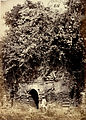 Old Goaldih Mosque, known as the Puarana Masjid, Sonargaon (1872).jpg