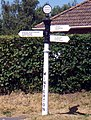 Old Lindsey County Council Signpost in Winterton - geograph.org.uk - 201433.jpg