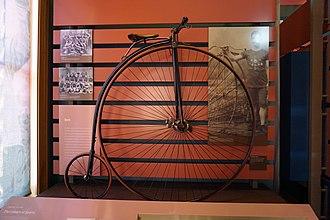 Gormully & Jeffery - Image: Old Red Museum January 2016 06 (1887 Gormully & Jeffery American Challenge bicycle)