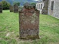 Old gravestone in St Bega's churchyard, near Bassenthwaite Lake - geograph.org.uk - 39862.jpg