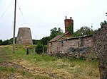 Old windmill and derelict buildings - geograph.org.uk - 191702.jpg