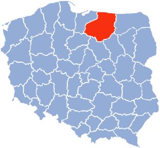 Olsztyn Voivodeship - Olsztyn Voivodeship