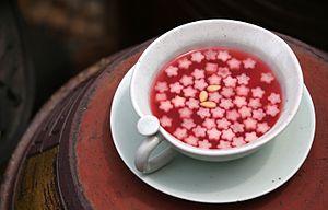 Hwachae - Omija-hwachae (magnolia berry punch)