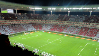C.D. Guadalajara - Inside view of Estadio Chivas.