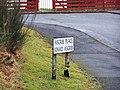 One legged road sign - geograph.org.uk - 1147645.jpg