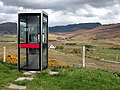One of Ross-shire's more scenic phone boxes - geograph.org.uk - 13868.jpg