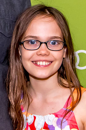 Oona Laurence - Laurence at the Montclair Film Festival in May 2015