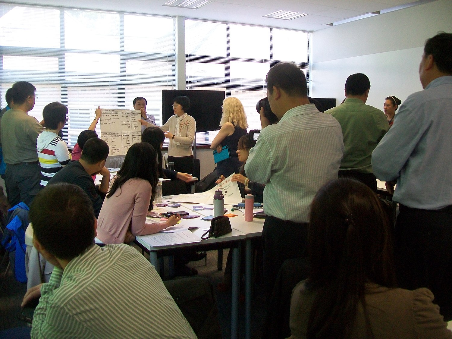 Open University China Learning Design at ILI Leicester.JPG