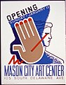 Opening Sunday - January 12, Mason City Art Center LCCN89715166.jpg