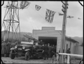 Opening of the new fire station on the Hutt Road at Silverstream, 1938 ATLIB 310261.png