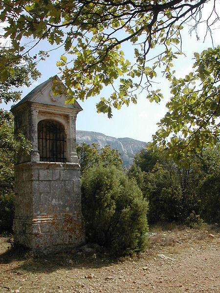 """L'oratoire des Béguines appelé aussi oratoire de """"Miette"""" se trouve sur le chemin des Rois"""