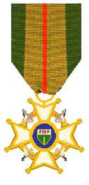 Legion of Merit (Rhodesia) - Image: Orde van Rhodesia Militaire Divisie 1971