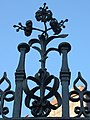 Ornate metalwork, Davenham - geograph.org.uk - 1327545.jpg