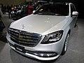 Osaka Motor Show 2019 (288) - Mercedes-Benz S 560 long Chauffeured Limited (V222).jpg