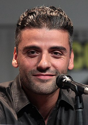Poe Dameron - Actor Oscar Isaac at the 2015 San Diego Comic-Con International