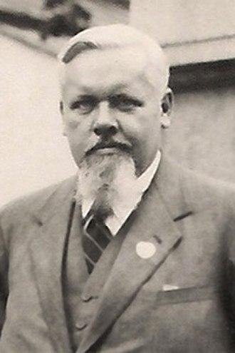 Oskar Anderson - Oskar Anderson in Tartu (around 1930)