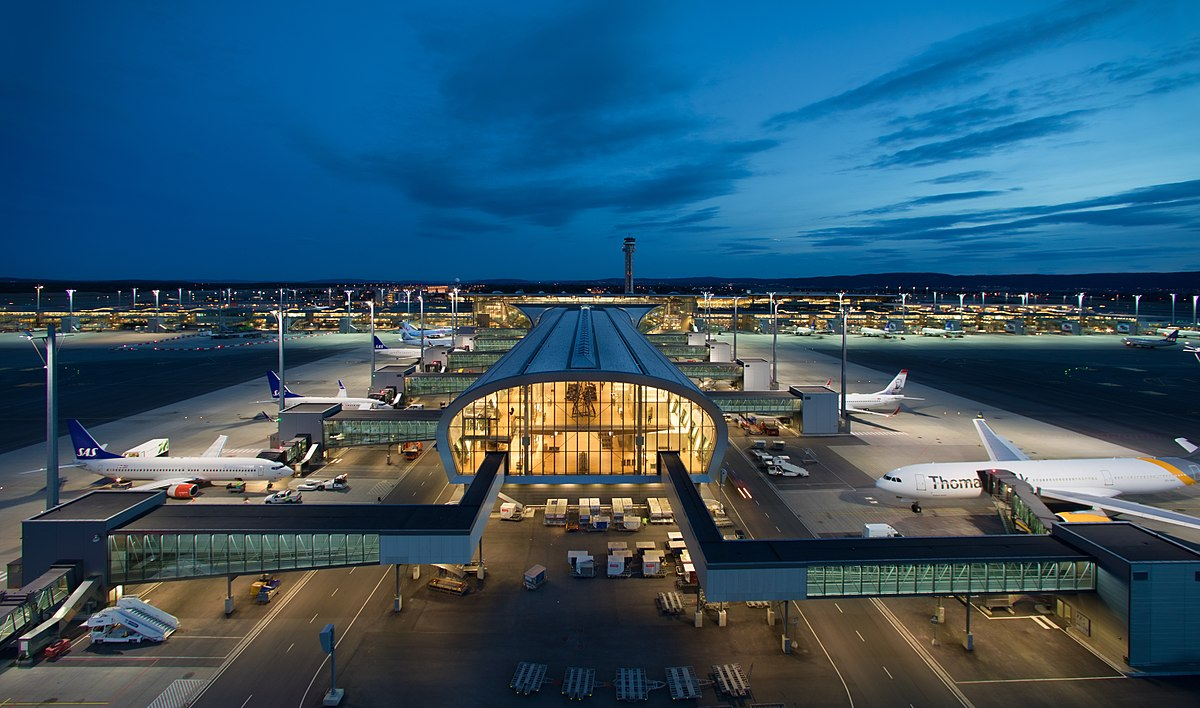 airport gardermoen oslo norway