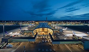 Oslo Airport terminal night view.jpg