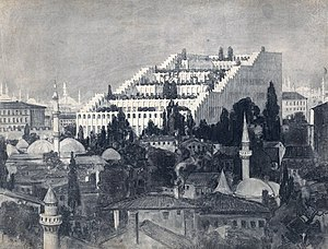 Germany–Turkey relations - An Unrealized Project of the House of Friendship in Istanbul for the Ottoman-German Alliance, 1916 (Osmanlı-Alman Dostuk Evi Projesi)