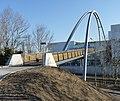 Ostrava, Moravská Ostrava, nový most na Karolinu.JPG