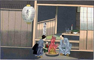 Bon Festival - Obon in the late Edo period