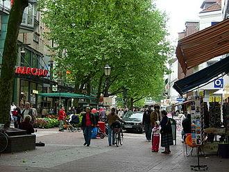 Ottensen - Ottenser Hauptstraße (pedestrian area)