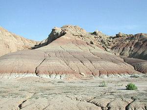 Ouray National Wildlife Refuge - Image: Ouray National Wildlife Refuge Rock Formations