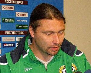 Sergei Ovchinnikov (footballer, born 1970) - Image: Ovchina