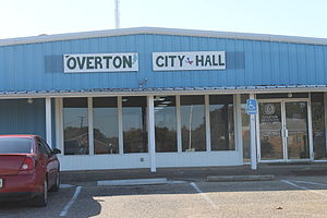 Overton, Texas - Overton City Hall