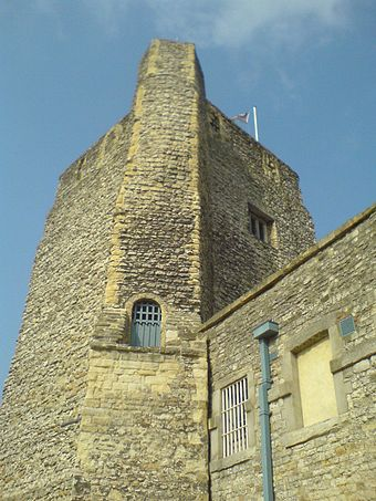 St George's Tower at Oxford Castle Oxford Castle.JPG